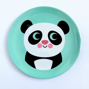 Assiette par Ingela P. Arrhenius - Panda