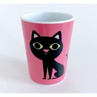 Gobelet par Ingela P. Arrhenius - Cat pink
