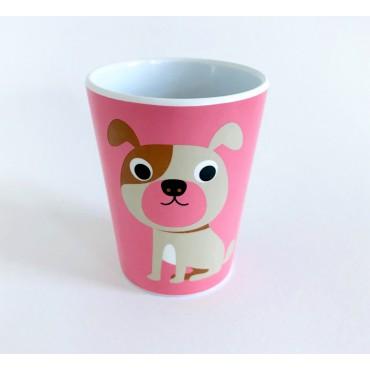 Gobelet par Ingela P. Arrhenius - Dog pink