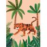 Carte postale - Savannah tiger