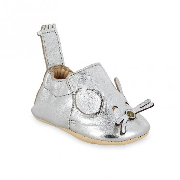 Chaussons Blumoo Souris - Silver