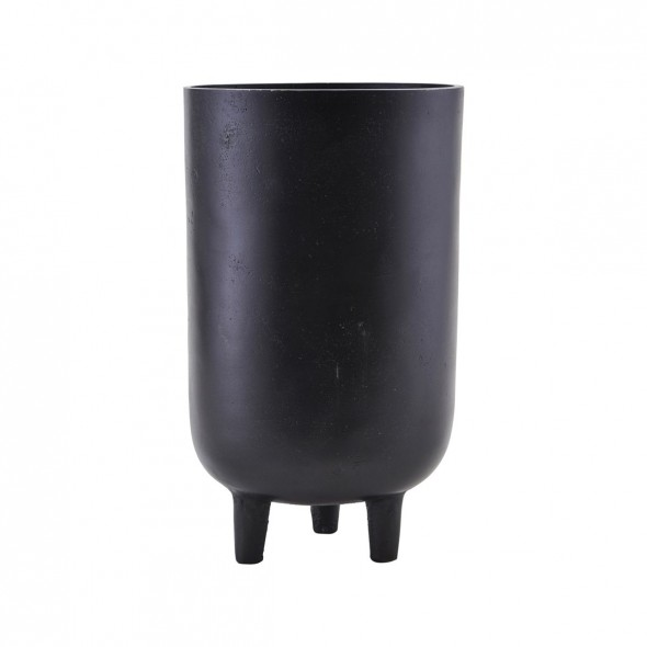 Cache pot Jang - Noir oxydé