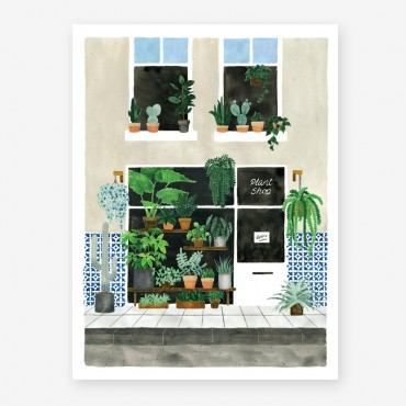 Affiche - Plant nursery