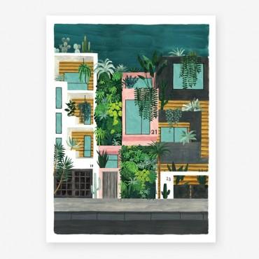 Affiche - Buildings