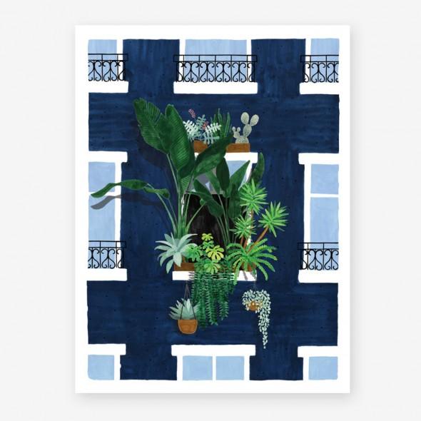 Affiche - Balcony