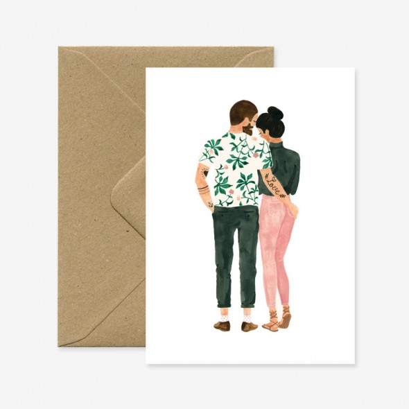 Carte - Loving hipsters
