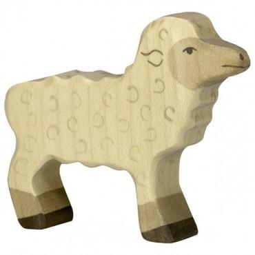Animal en bois - Agneau
