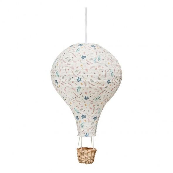 Lampe Montgolfière - Leaves rose