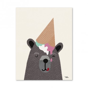Affiche - I love Icecream