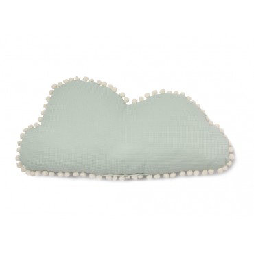Coussin Marshmallow Cloud - Aqua