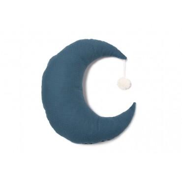 Coussin Pierrot Moon - Night blue