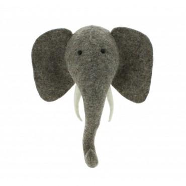 Mini trophée - Eléphant