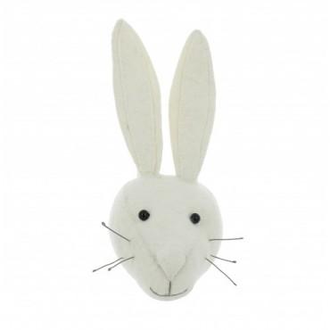 Mini trophée - Lapin blanc