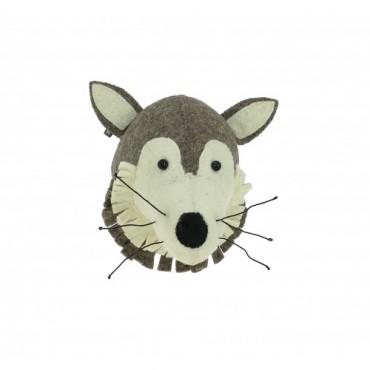Mini trophée - Loup