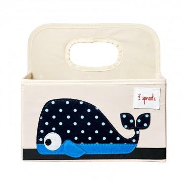 Petit panier de rangement - Baleine