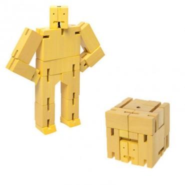Micro Robot Cubebot par AREAWARE - Jaune