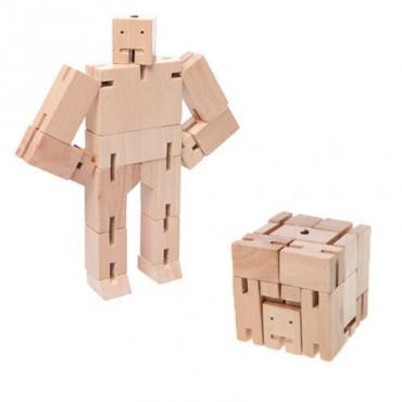 Micro Robot Cubebot par AREAWARE - Naturel
