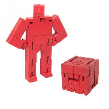 Micro Robot Cubebot par AREAWARE - Rouge