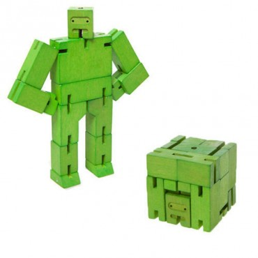 Micro Robot Cubebot par AREAWARE - Vert