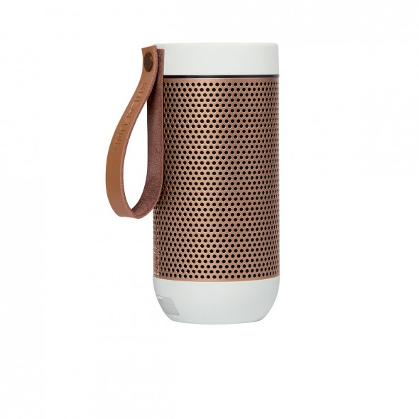 Enceinte Bluetooth aFUNK - White & rose gold