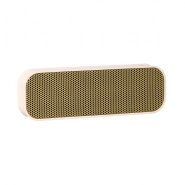 Enceinte Bluetooth aGROOVE - Dusty pink & gold