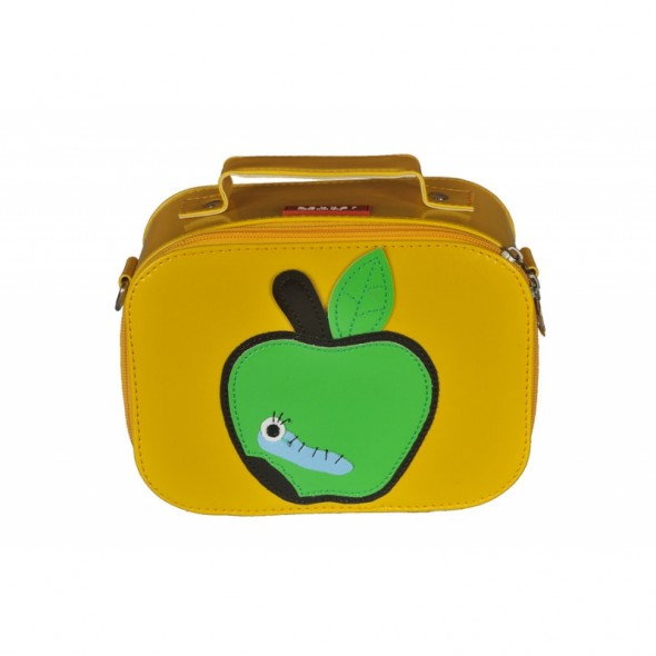 Lunch Box Pomme Vinyle - Jaune
