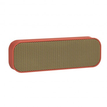 Enceinte Bluetooth aGROOVE - Soft coral & gold