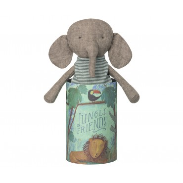 Doudou Jungle Friends - Éléphant