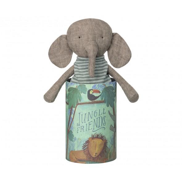 Doudou Jungle Friends - Éléphant