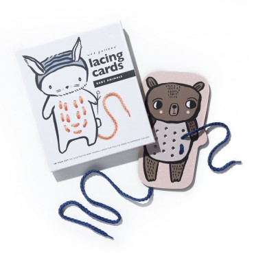 Cartes à lacer - by animals