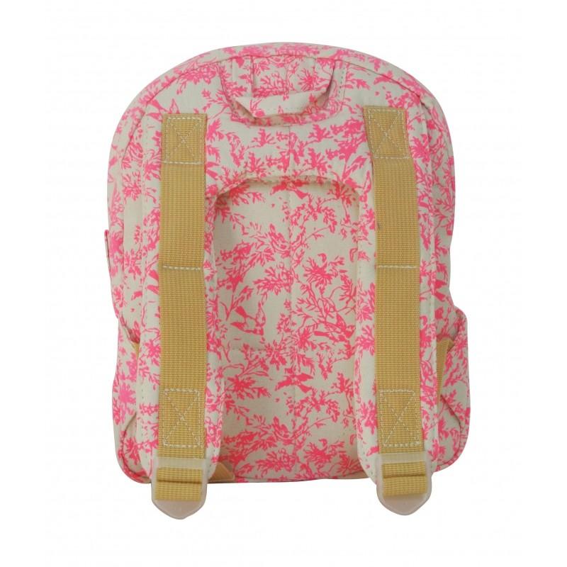 mini sac dos canvas jouy rose fluo bakker made with. Black Bedroom Furniture Sets. Home Design Ideas