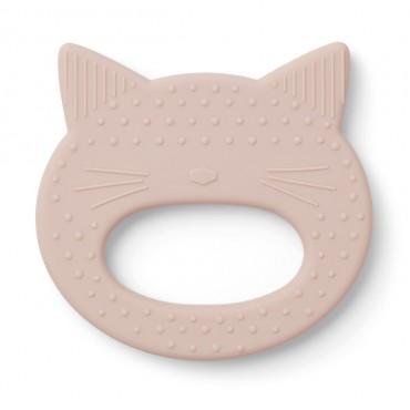 Anneau de dentition Gemma - Cat (rose)