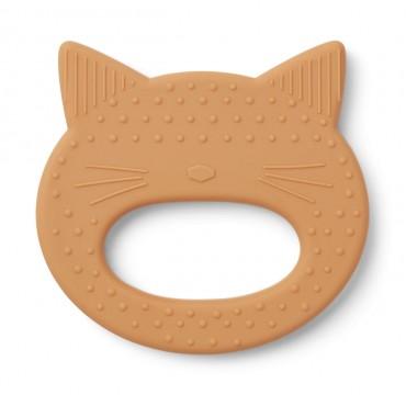Anneau de dentition Gemma - Cat (moutarde)