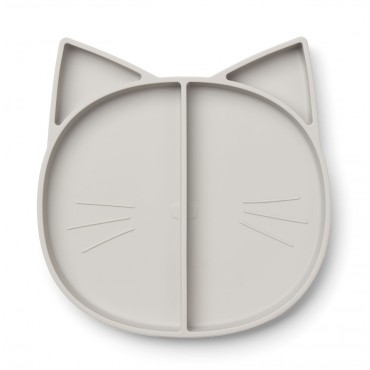 Assiette à compartiments Maddox - Cat (dumbo grey)