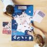 Sticker Poster - Carte de France