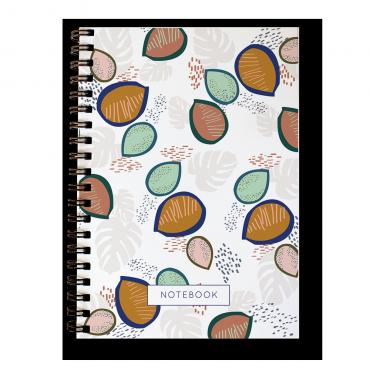Carnet spirale - Wax Papaye