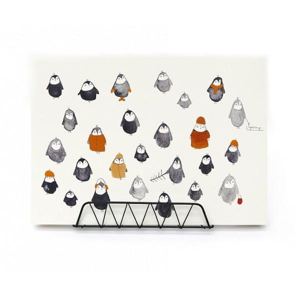 Affiche - Pingouins (A3)