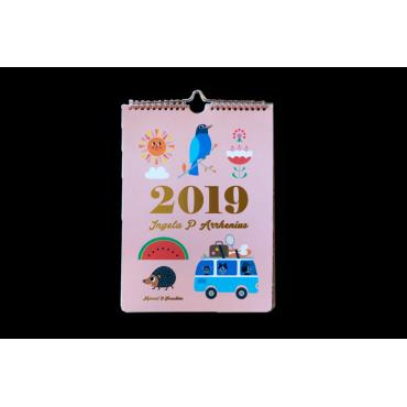 Calendrier 2019 par Ingela P. Arrhénius
