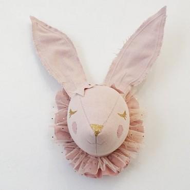 Trophée Lapin rêveur (Nude pink)