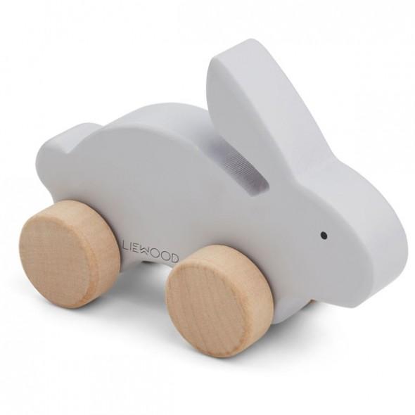 Jouet en bois Elena - Rabbit (dumbo grey)