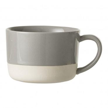 Mug en grès Zoe - Grey