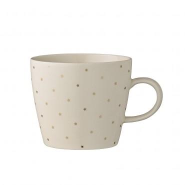 Tasse à thé Fanny - Etoiles dorées