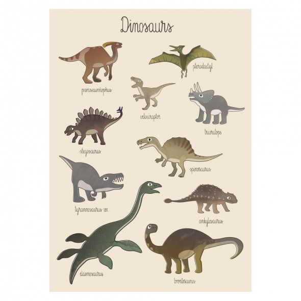 Poster - Dino