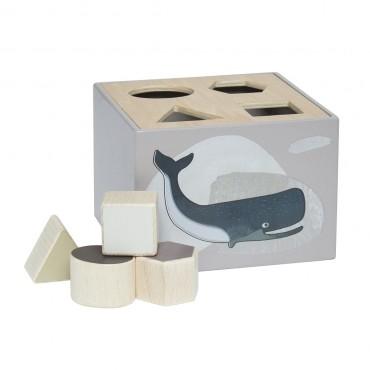 Cubes à formes - Animaux de l'arctique