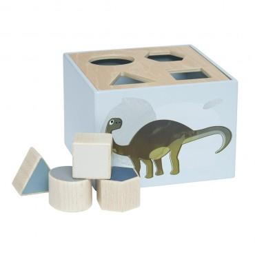 Cubes à formes - Dinosaures