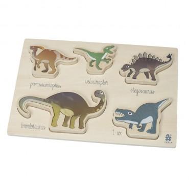 Puzzle en bois - Dinosaures
