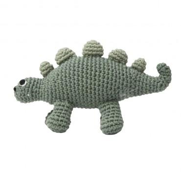 Hochet en crochet - Dinosaure
