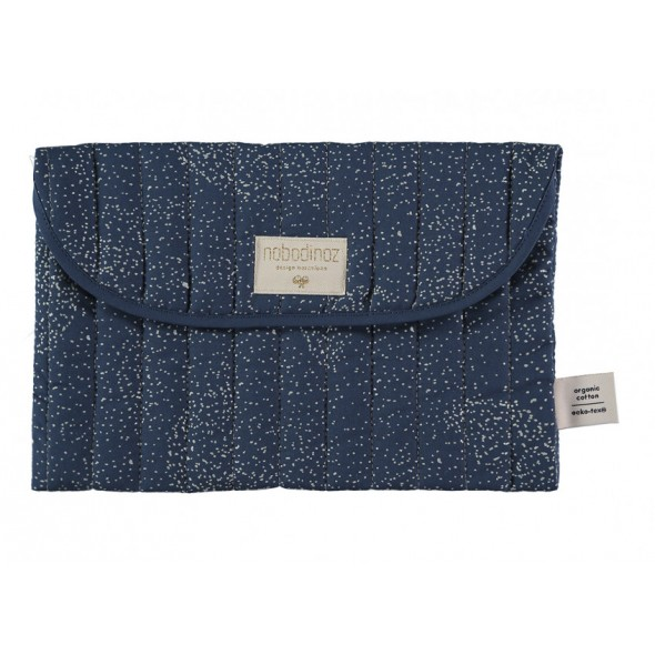 Pochette de rangement Bagatelle - Gold bubble / Night blue