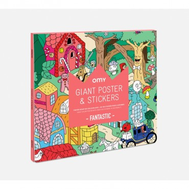 Poster géant & Stickers - Fantastic
