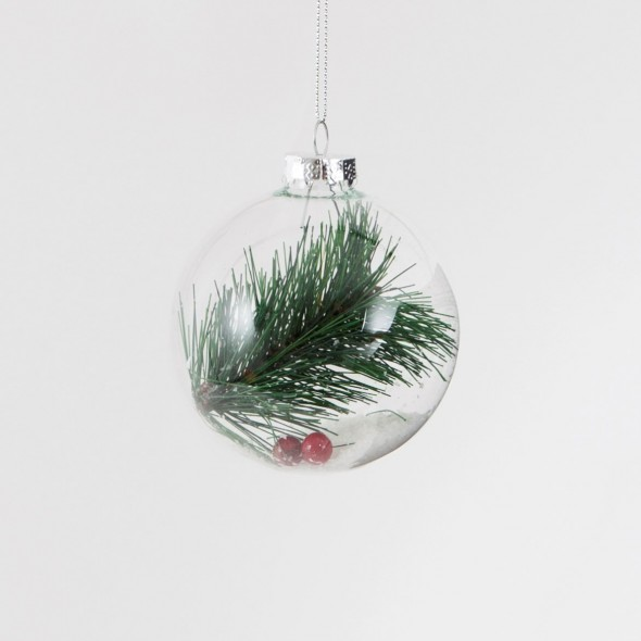 Boule de Noël - Pin & baie